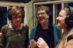"""Girls from Mars recording of """"Take the A Train"""" on their """"Return to Planet Swing"""" CD."""